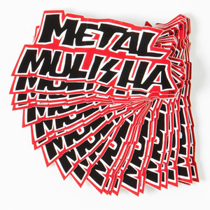 "38-32646 | Metal Mulisha Deegan 3"" tarra musta"