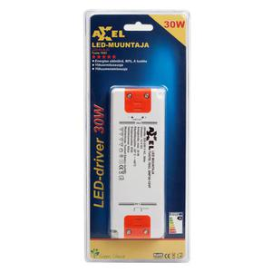 38-4961 | LED muuntaja 220-240V 30W 12VDC IP20