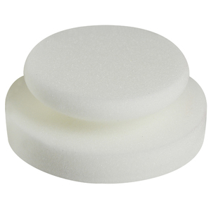 Scholl Concepts Paint Puck 130/50 mm white 2 kpl