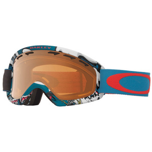 40-02887 | Oakley O2 XS ajolasit Shady Trees Blue Red Persimmon