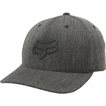 Fox-Heads-Up-110-Snapback-lippis-tummanharmaa
