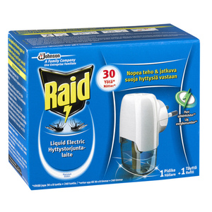 42-1633 | Raid Liquid Electric Killer hyttyskarkotin