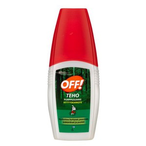 Johnson OFF Teho pumppusuihke 100ml