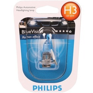 43-2205 | H3-polttimo Philips BlueVision Ultra 12V 55W