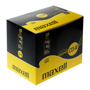 47-5111 | Maxell CD-R levy 52x 700MB/80min JewelCase 10kpl