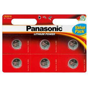 47-7017 | Panasonic CR2016x6 Nappiparisto
