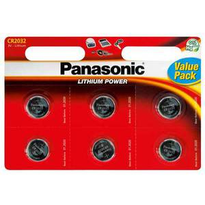 47-7019 | Panasonic CR2032 x 6 nappiparisto