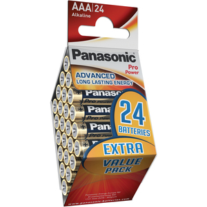 47-7023 | Panasonic Pro Power 24xAAA/R03 paristo