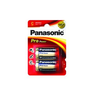 47-7101 | Panasonic Pro Power C / LR14 paristo 2 kpl