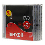 Maxell-DVD-R-levy-16x-47GB-JewelCase-5kpl