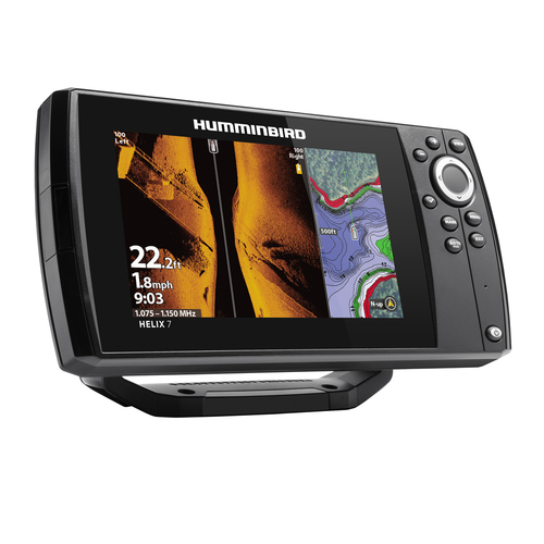 Humminbird HELIX 7 CHIRP MEGA SI GPS G3 kaikuluotain/karttaplotteri
