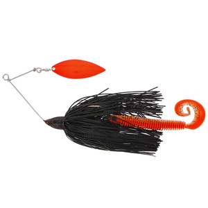 55-00118 | Westin MonsterVibe 65 g spinnerbait Black Mamba