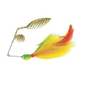 56-1669 | Northland Bionic Buctail Spinnerbait 28g 2 Yellow Perch
