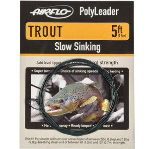 56-3151 | Airflo Polyleader Trout Clear Hover 5'
