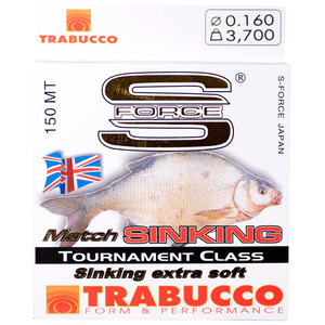 56-5621 | Trabucco S-Force Match Sinking monofiilisiima 0,14mm 150m