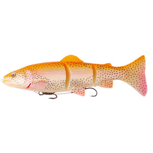 56-7656 | Savage Gear 3D Trout Line Thru haukiviehe Slow sink 15cm/35g Golden Albino