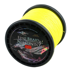 56-8962 | Mikado Nihonto Fine Braid kuitusiima 1000m 0,50mm yellow