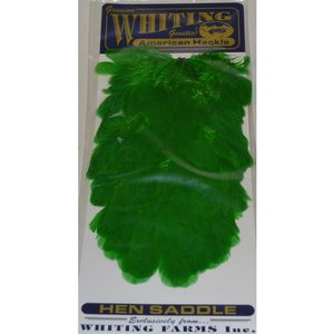 56-9432 | Whiting American Hen Saddle highlander green