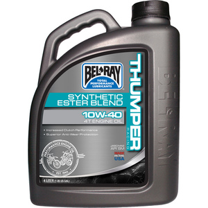 59-3078 | Bel Ray Thumper racing synthetic Ester Blend 4T 10W-40 4L
