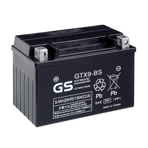 "90-0655 | GS MP-akku 12V 8Ah ""GTX9-BS/YTX9-BS"""